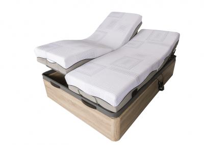 Canapé con cama articulada